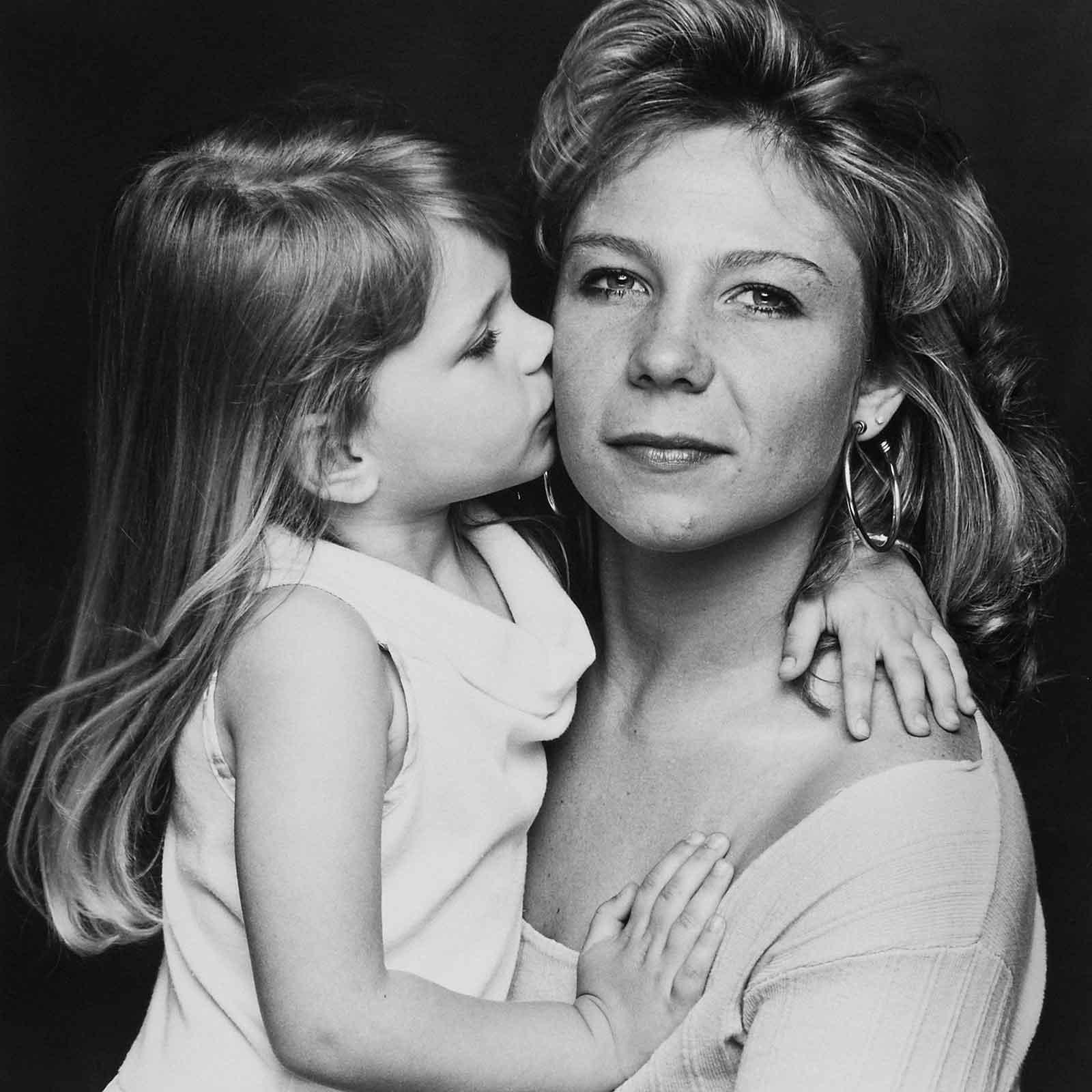 Zoë Lorenz and her daughter