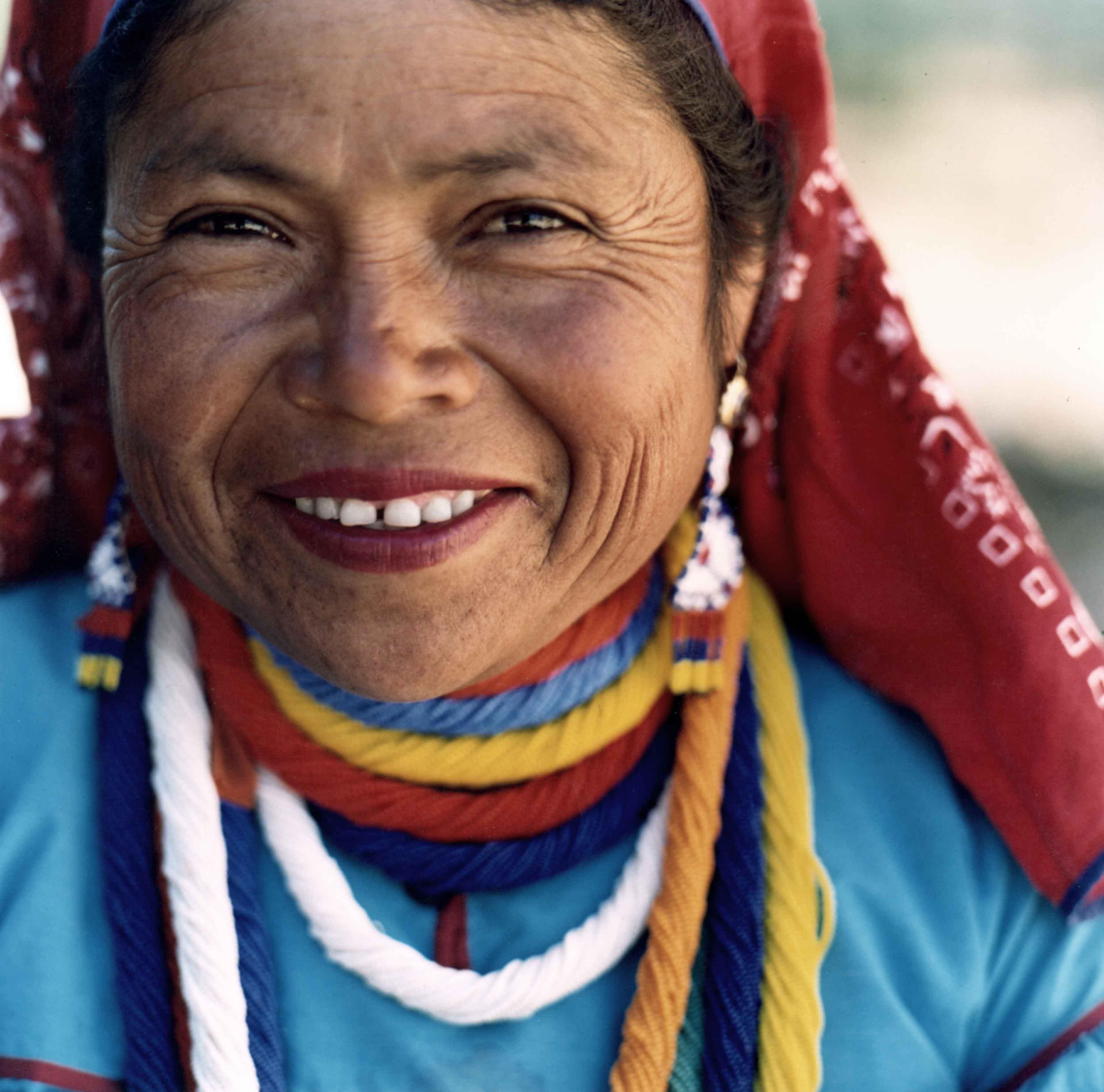 Huichol woman